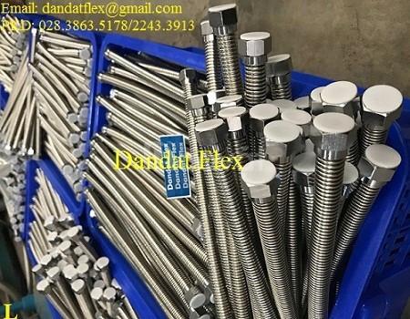 Dây cấp nước mềm inox 304 - Ống nối mềm dẫn nước inox 304 - khớp nối