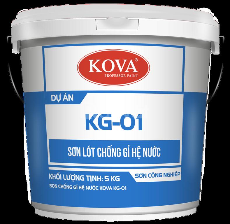 Tìm cửa hàng cung cấp Sơn lót chống rỉ Kova KG-01 chính hãng tốt nhất