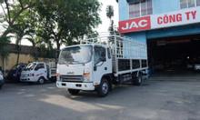 Giá xe tải jac N650 6.5 tấn máy cummin thùng bạt 6m2 | Hỗ trợ trả góp