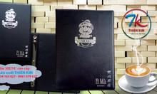 Xưởng sản xuất bìa menu giá rẻ, bìa trình ký, bìa passport cao cấp