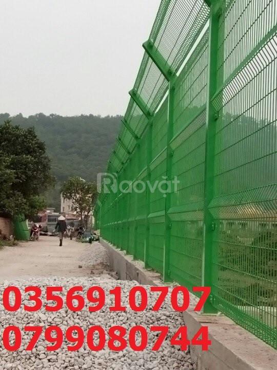 Hàng rào lưới thép, hàng rào gập đầu, hàng rào thép
