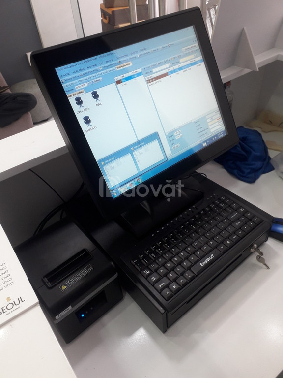 Trọn bộ máy tính tiền dành cho tiệm nail tại An Giang giá rẻ