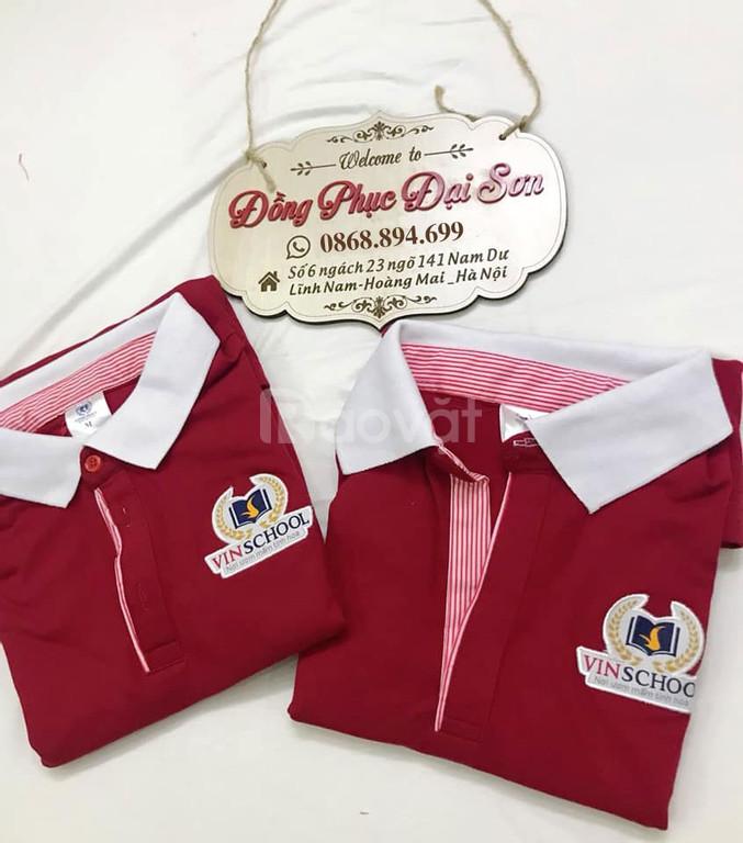 Áo thun áo phông đồng phục in logo
