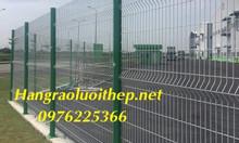 Hàng rào lưới thép hàn, hàng rào mạ kẽm giá tốt