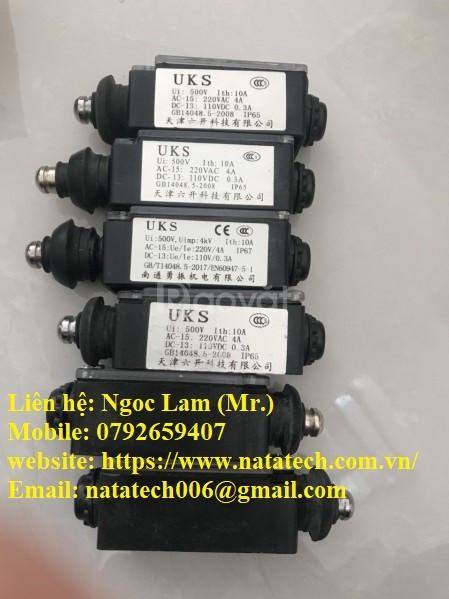 Công tắc giới hạn GB14048.5 IP67 chính hãng UKS