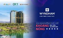 826tr/căn Căn hộ chăm sóc sức khỏe khoáng nóng Wyndham Thanh Thủy