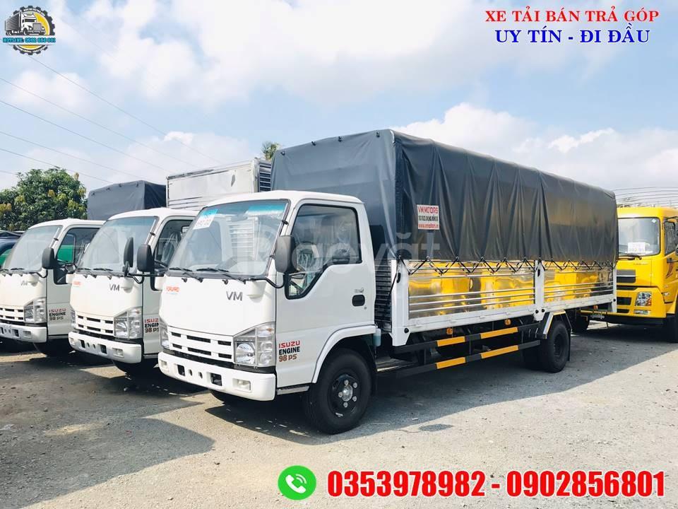 Xe  tải 1 tấn 9 thùng dài 6 mét, giá xe tải thùng dài
