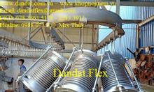 Dn200 x 400 - Khớp co giãn inox 316 - Ống bù giản nở - Khớp giãn nở