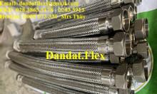 Khớp nối chống rung inox nối ren - lắp ren/khớp nối mềm công nghiệp