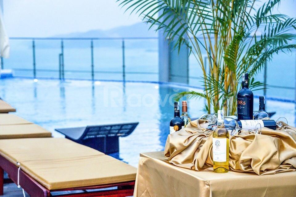 Chính chủ bán căn hộ biển trung tâm Nha Trang, sắp bàn giao,giá tốt
