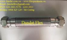 Khớp nối mềm inox lắp kép (inox/sắt)/Khớp nối mềm công nghiệp/ống mềm