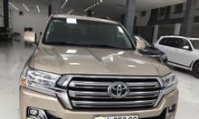 Bán Toyota Land Cruiser VX màu vàng cát sx 2017