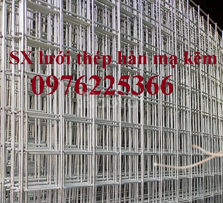 Lưới thép hàn chập phi 3, phi 4 dạng cuộn, dạng tấm theo yêu cầu