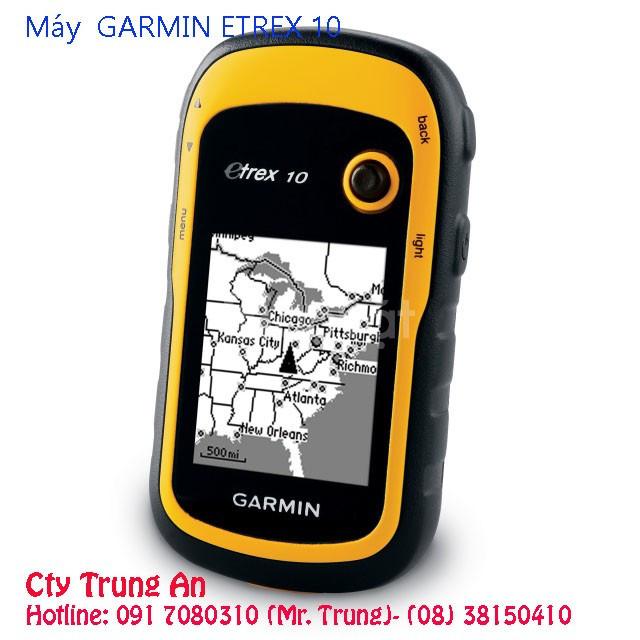 Máy đo đất, đất nông nghiệp, đất rừng rẩy Gps Garmin eTrex 10