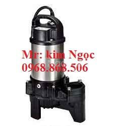 0968868506 máy bơm nước thải thân inox 0.75kw 50pu2.75
