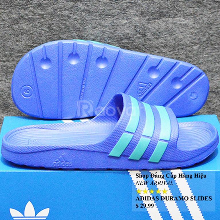 Adidas Duramo màu xanh dương sọc ngọc