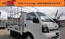 Xe tải mở 5 bửng 2.49 tấn Thaco, động cơ hyundai, thùng dài 3m5