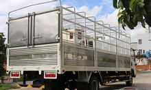Đánh giá xe 8 tấn thùng 6m2 ga cơ 2017 .