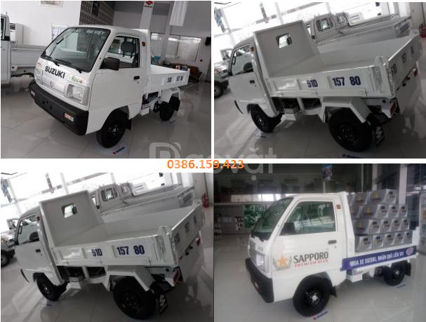 Xe ben suzuki 500kg , xe suzuki tải 500kg   suzuki carry truck.
