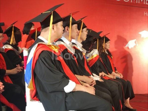 Cơ sở may gấu bông tốt nghiệp, áo cử nhân tốt nghiệp uy tín