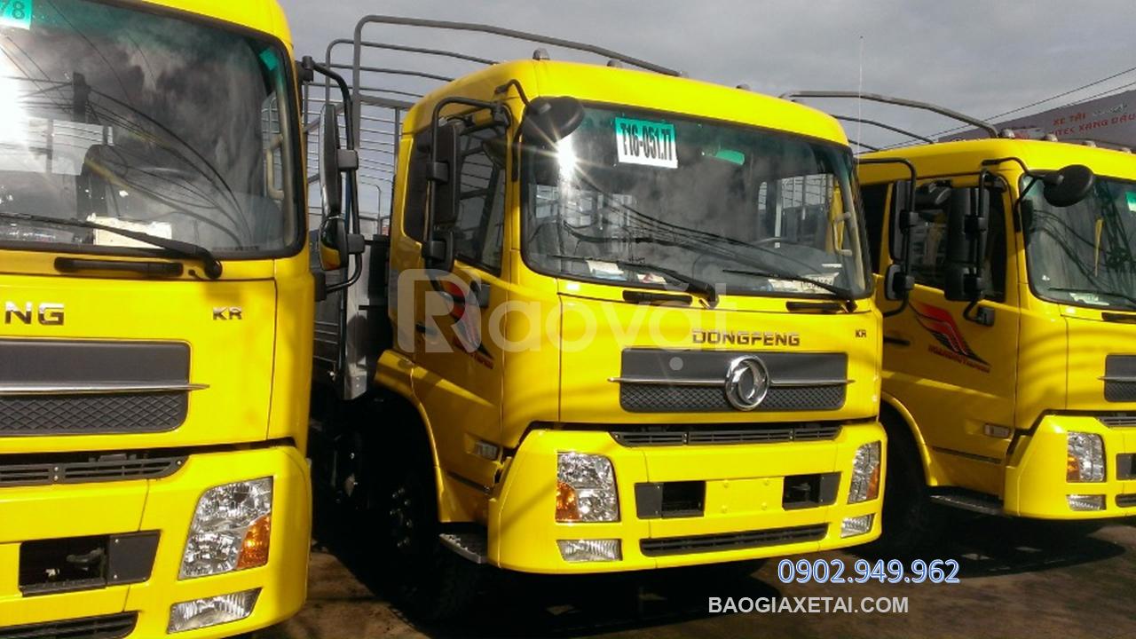 Xe tải 9 tấn Dongfeng B180 ~ Thùng 7M5+Bình Dương