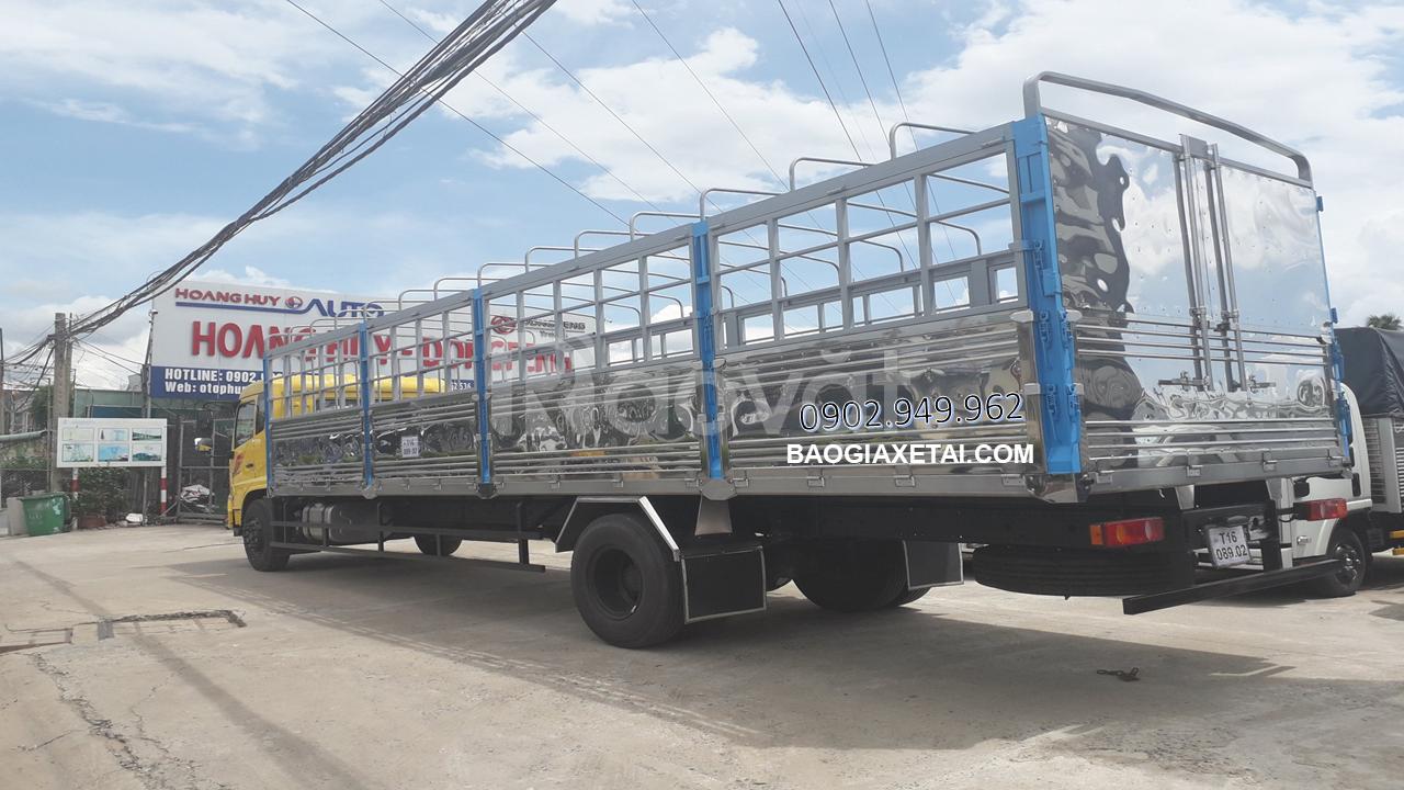 Giá xe tải Dongfeng 9 tấn, Dongfeng + 9T thùng 7m5