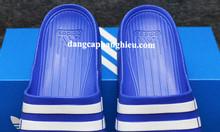 Adidas Duramo màu xanh dương sọc trắng