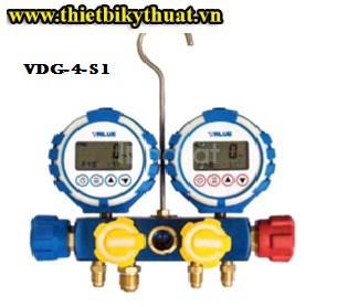 Đồng hồ điện tử nạp gas lạnh Value Vdg-4-s1