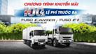 Khuyến mại 100% phí trước bạ xe Fuso Canter 4.99 (ảnh 1)