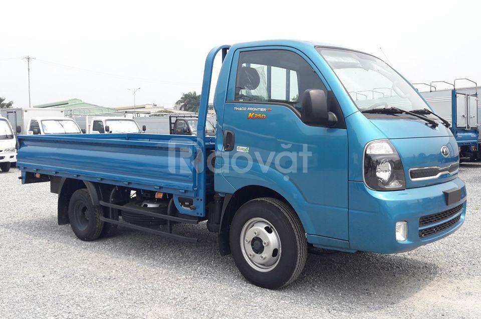 Xe tải Thaco kia k250 thùng lửng tải trọng 2.4T