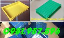 Khay nhựa linh kiện, khay nhựa BL006, khay đựng vi mạch