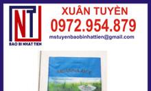 Bao bì gạo 10kg ghép màng in ống đồng