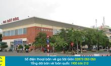 Vé tàu Sài Gòn đi Vinh giá rẻ, đặt trực tuyến