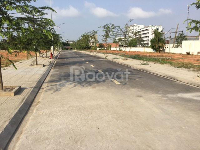 36 lô đất mặt tiền đường An Phú Đông 27, quận 12 giá 39 triệu/m2