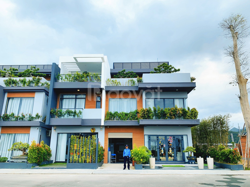 KĐT KVG The Cappella nhà phố xanh đầu tiên tại Nha Trang