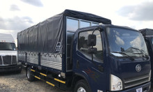 Giá xe tải faw 7.3 tấn thùng bạt động cơ hyundai | Hỗ trợ trả góp