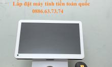 Máy tính tiền cho nhà sách tự chọn tại Lâm Đồng
