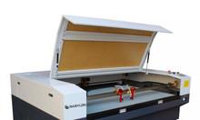 Máy cắt vải laser 1610 2 đầu tại Hoàng Mai giảm giá
