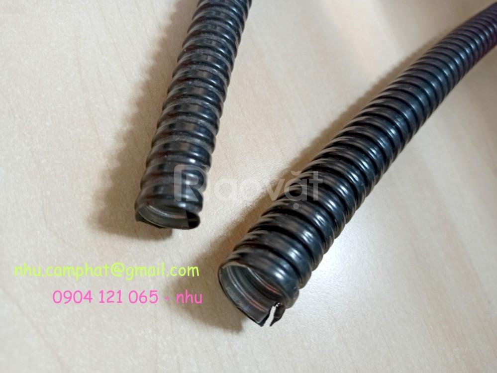 Ống ruột gà lõi thép bọc nhựa PVC Phi 32 hàng sẵn kho