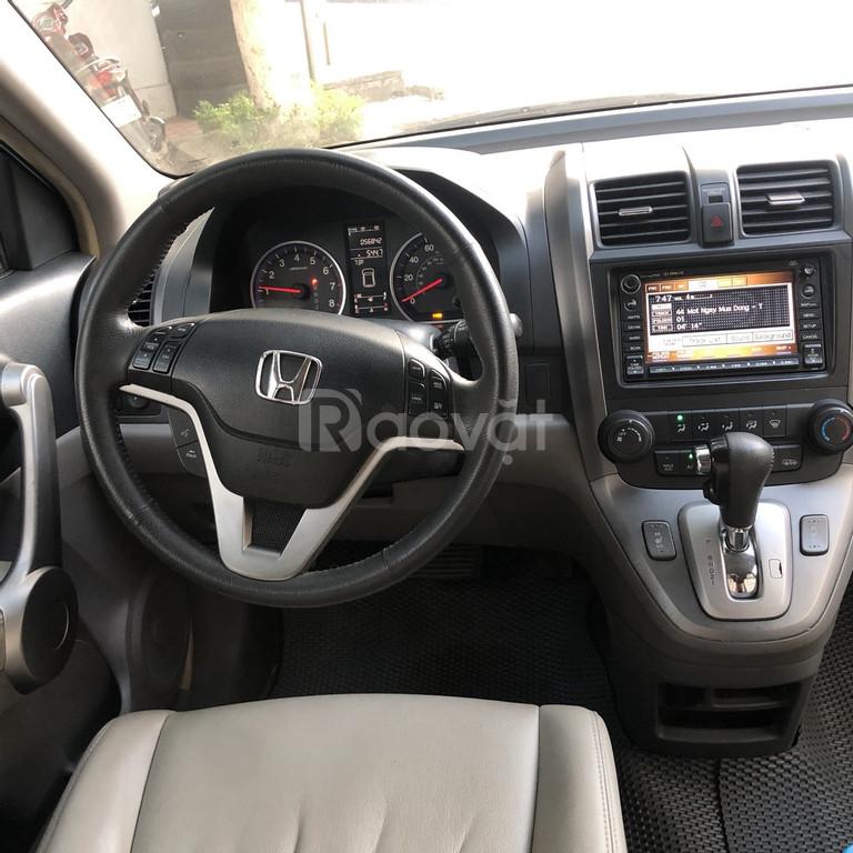 Honda CRV 2.4 AT xanh ngọc bích 2007 nhập khẩu Mỹ chính chủ
