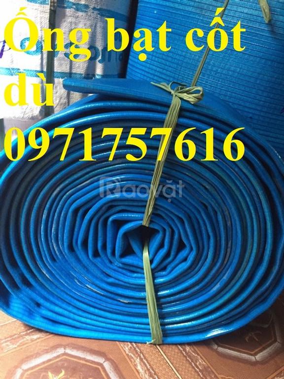 Ống bạt cốt dù -ống bạt bơm xả nước giá tốt