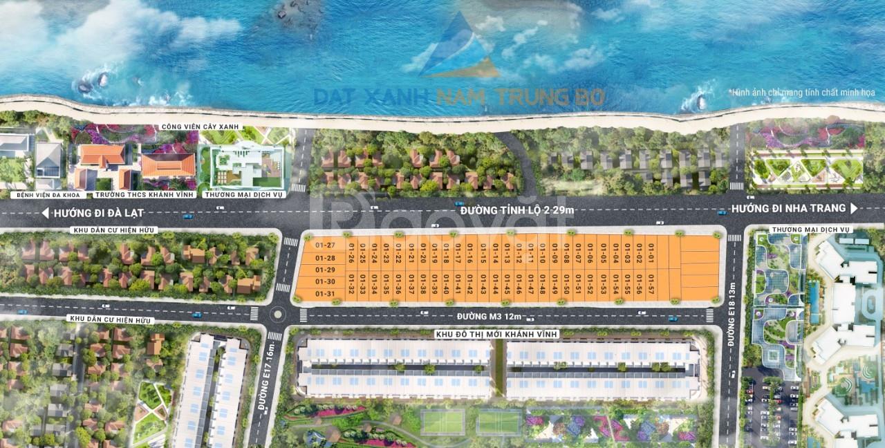 Bán gấp đất nền khu đô thị mới ven sông trung tâm Khánh Vĩnh 700tr