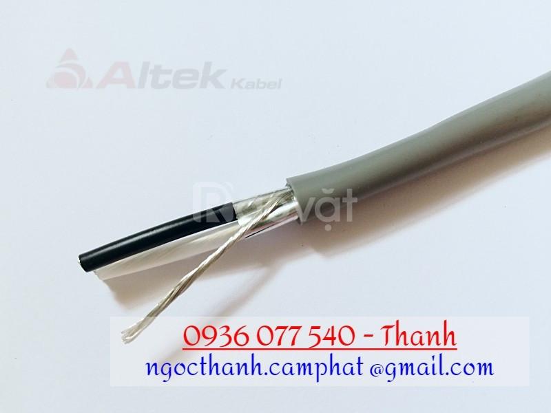Cáp tín hiệu Altek Kabel, cáp tín hiệu chống nhiễu 1 Pair 18 AWG