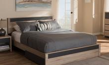 Giường ngủ gỗ hiện đại tp.hcm - mẫu giường ngủ đẹp 2020