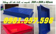 Hộp nhựa BL006, khay nhựa đựng bản mạch, khay nhựa đựng ốc vít