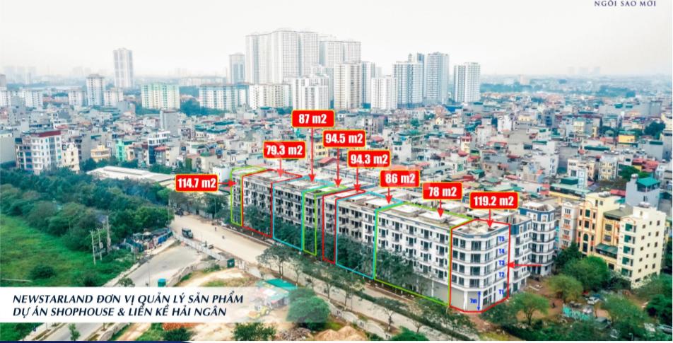 Đầu tư Shophouse, Liền Kề Hải Ngân, Shophouse ngã ba đường Thanh Liệt