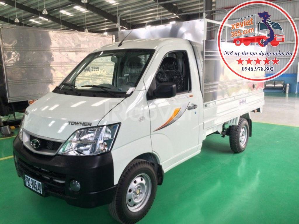 Cần bán xe tải Thaco Towner 990 tải trọng 1 tấn chạy xăng giá rẻ