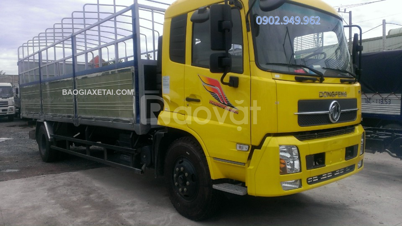Xe tải 8 tấn Dongfeng thùng 9M5+ Báo giá tháng 04/2020