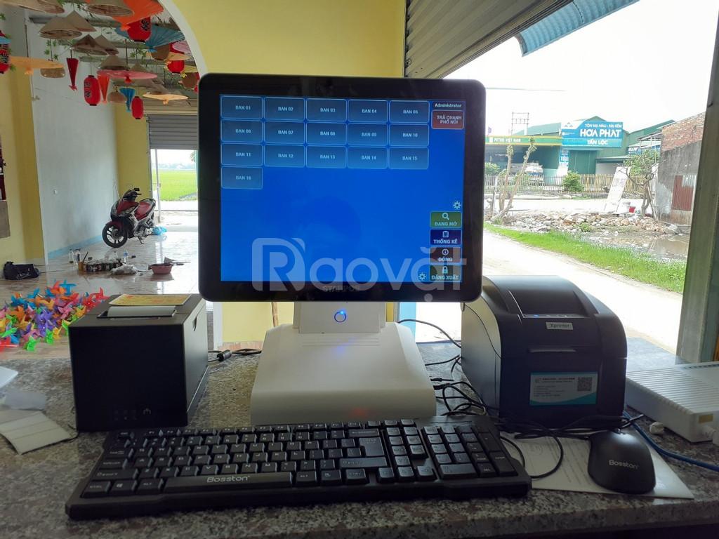 Máy tính tiền dành cho quán trà chanh giá rẻ tại Hà Tĩnh