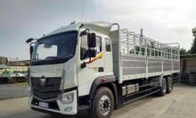 Bán xe tải 3 chân thùng mui bạt thaco
